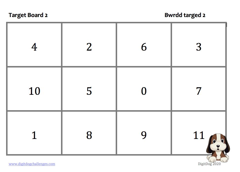 Target board 2