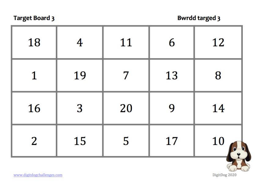 Target board 3