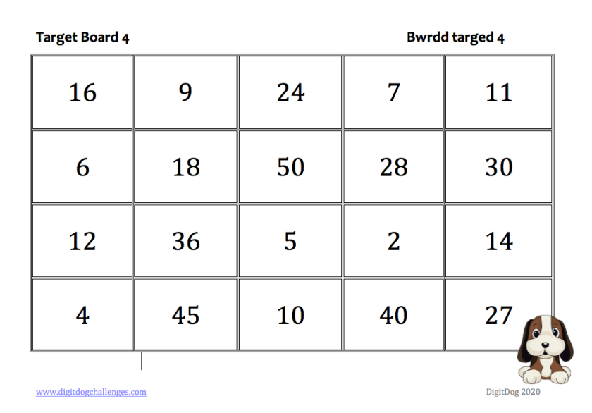Target board 4