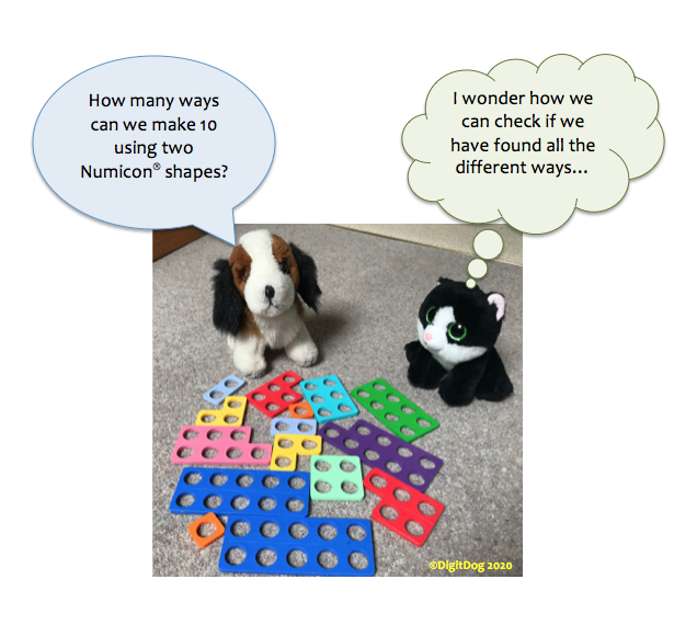 Numicon pairs to 10